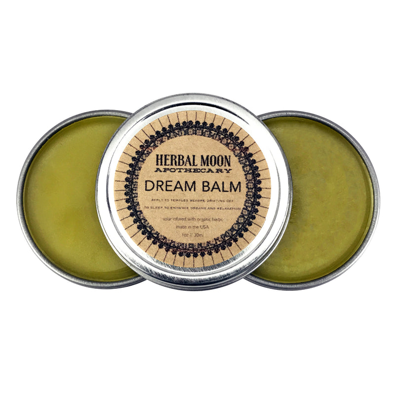 Dream Balm 1oz Tin By Herbal Moon Apothecary