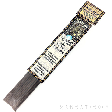 Wise Owl Higher Self Stick Incense - 20 pack - Handmade By Charme et Sortilege