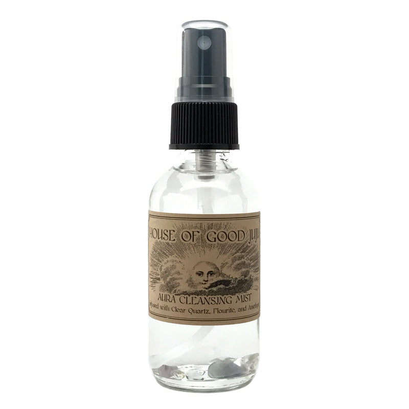 Crystal Infused Aura Cleansing Mist 2oz - House of Good Juju