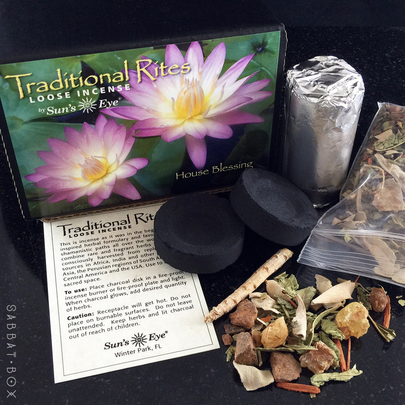 House Blessing Traditional Rites Loose Incense Kit