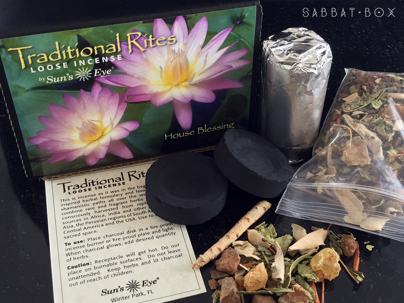 House Blessing Ritual Incense Kit