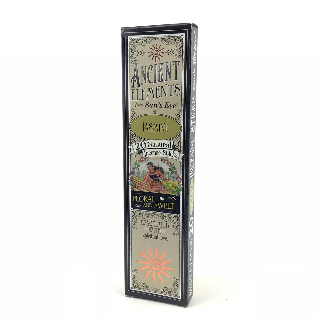 Jasmine Ancient Elements Stick Incense by Sun's Eye - Sabbat Box