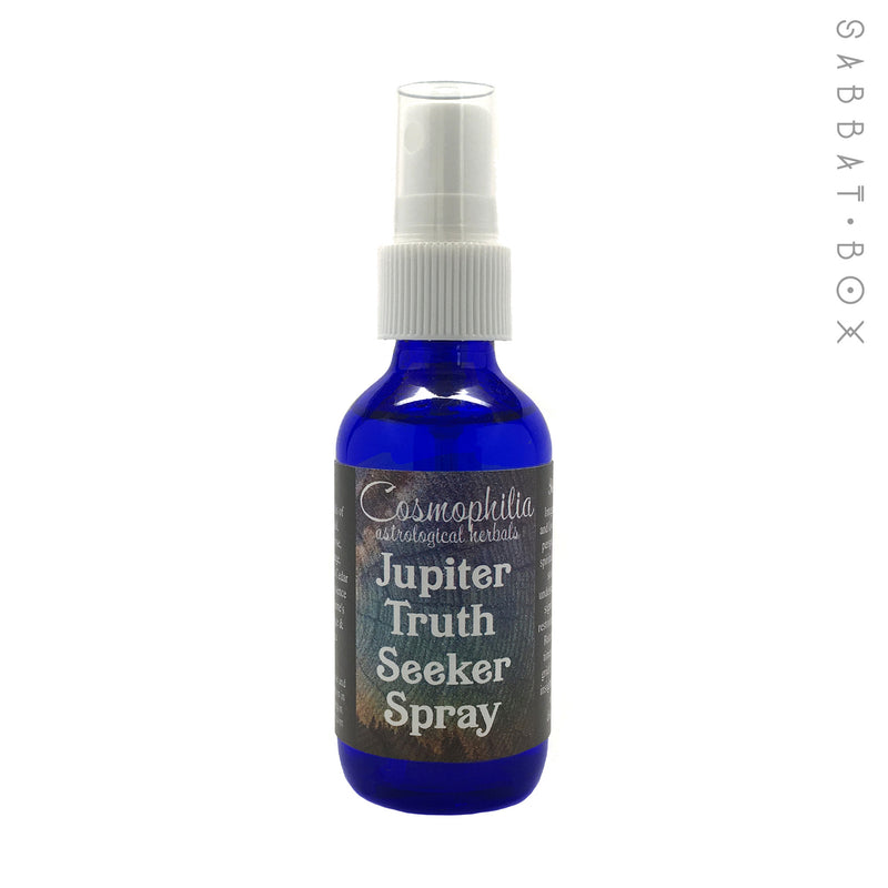Jupiter Truth Seeker Ritual Spray 2oz - By Cosmophilia Astrological Herbals