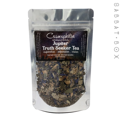 Jupiter Truth Seeker Tea - 1oz - Cosmophilia Astrological Herbals Pagan Tea