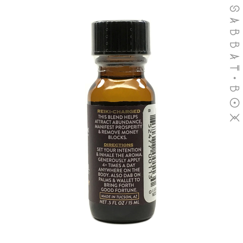 Prosperity Ritual Anointing Oil By Kate's Magik - 1/2 fl oz.
