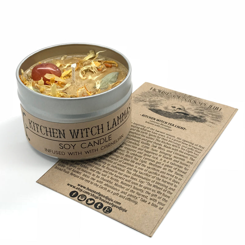 Kitchen Witch Spell Candle By House of Good Juju