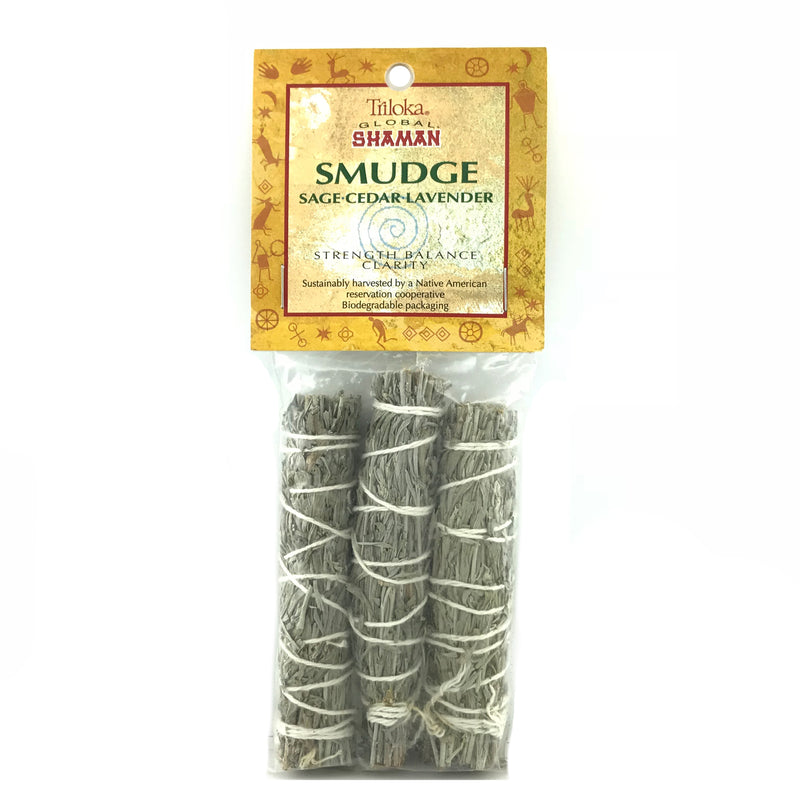 Sage, Cedar and Lavender Smudge Stick Set - 3 Pack - Sabbat Box