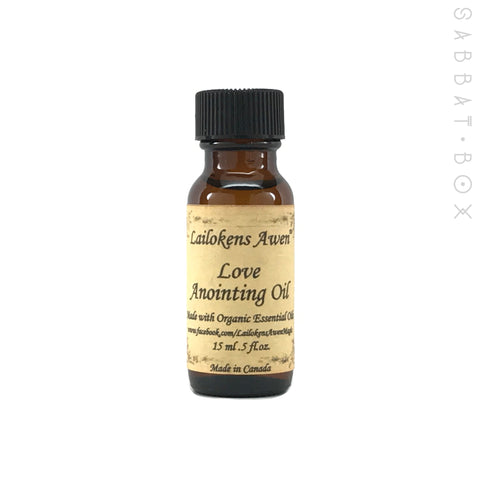 Love Ritual Anointing Oil By Lailoken's Awen