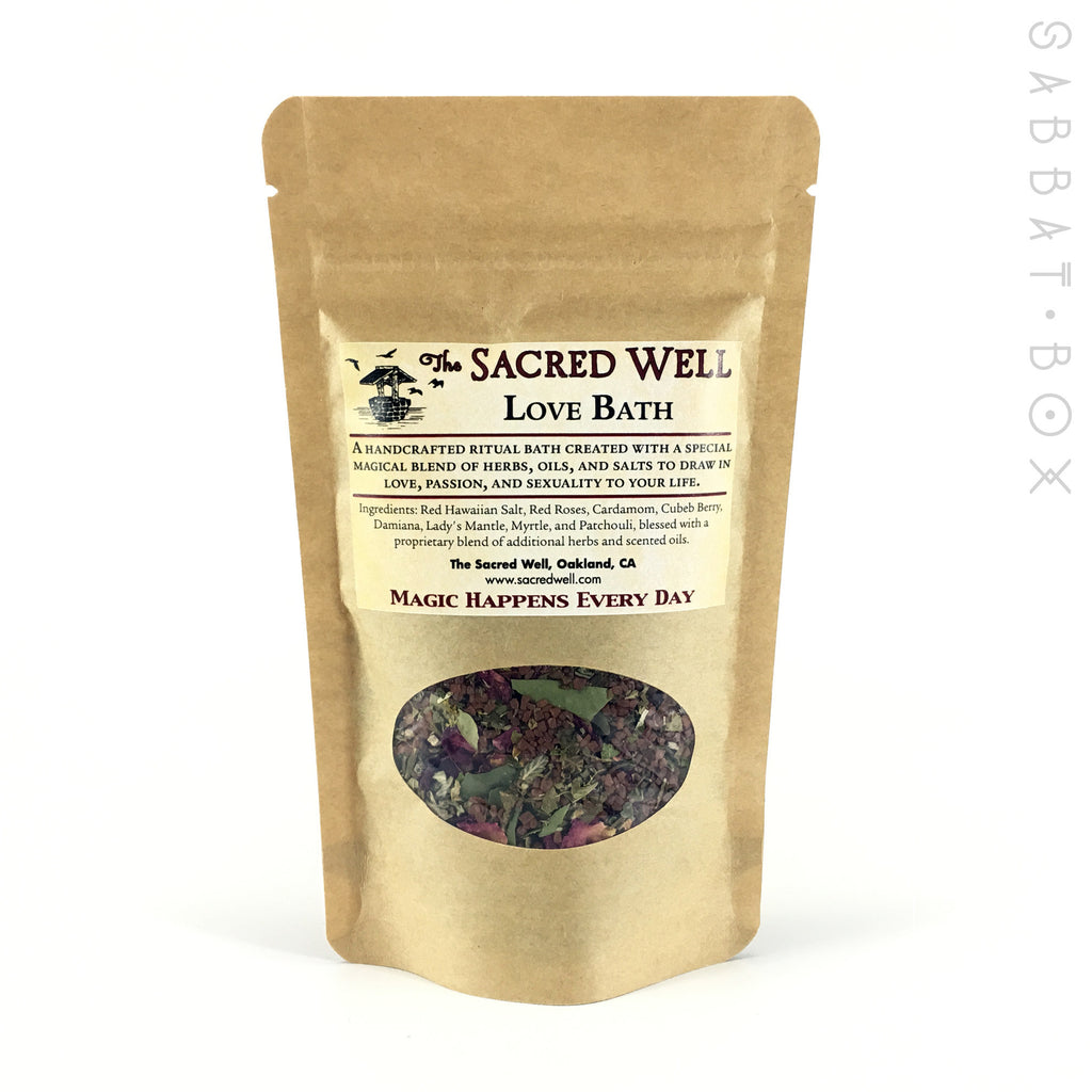 Love Ritual Bath By The Sacred Well - 4oz