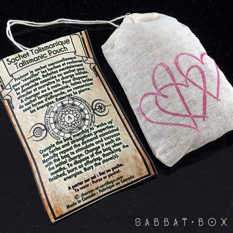 Attraction Sachet - Attraction Mojo Bag - Sabbat Box