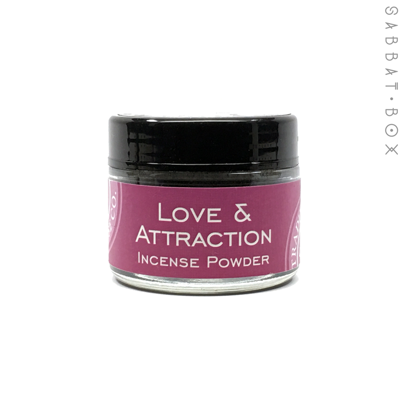 Love and Attraction Incense Powder - 3.5 oz