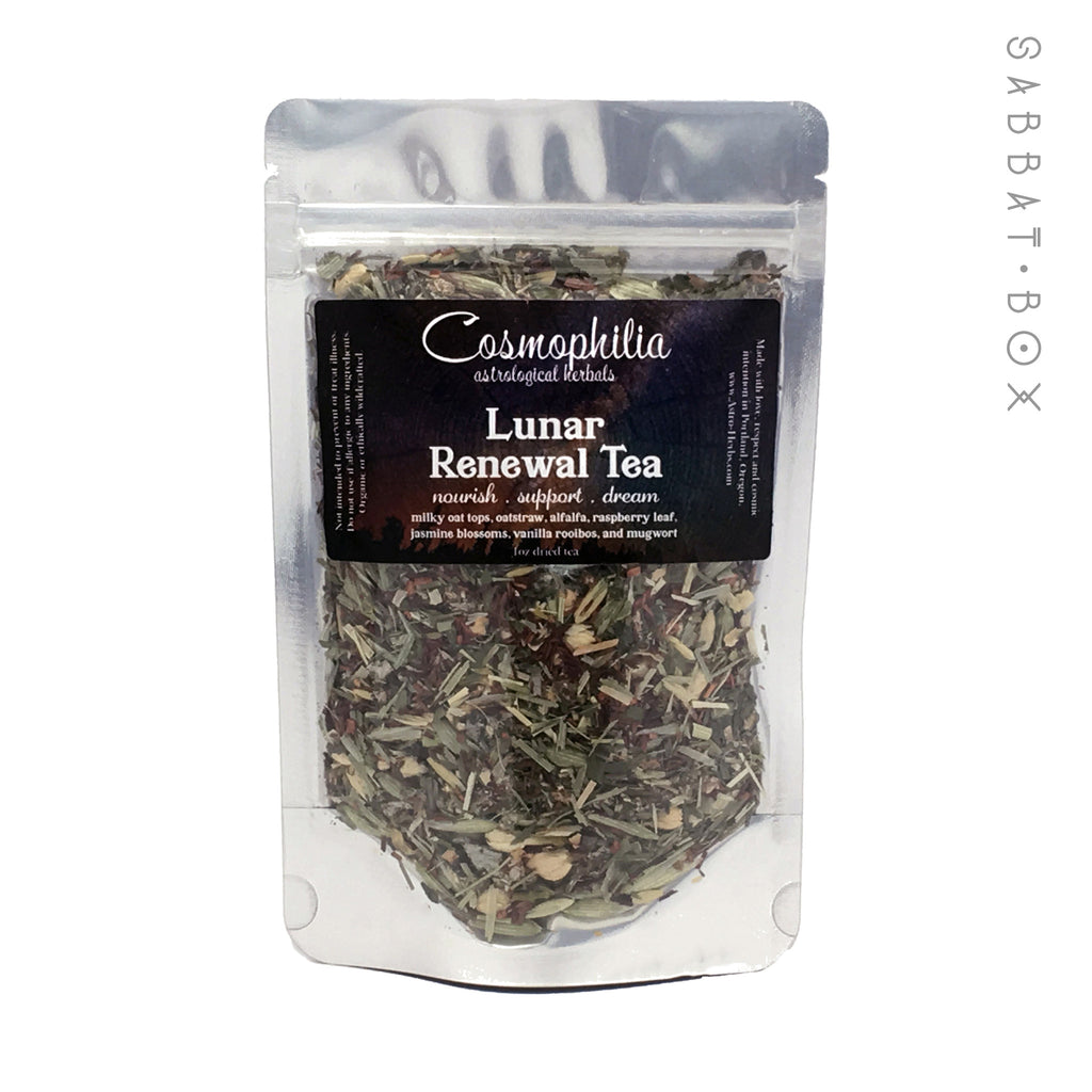Lunar Renewal Tea by Cosmophilia Astrological Herbals - Pagan Tea