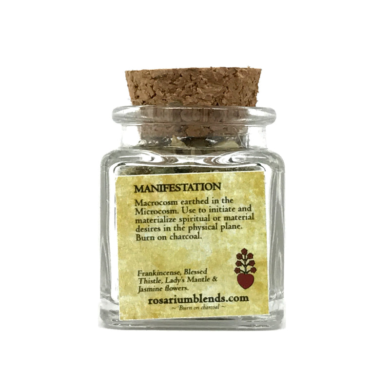 Manifestation Ritual Incense By Rosarium Blends