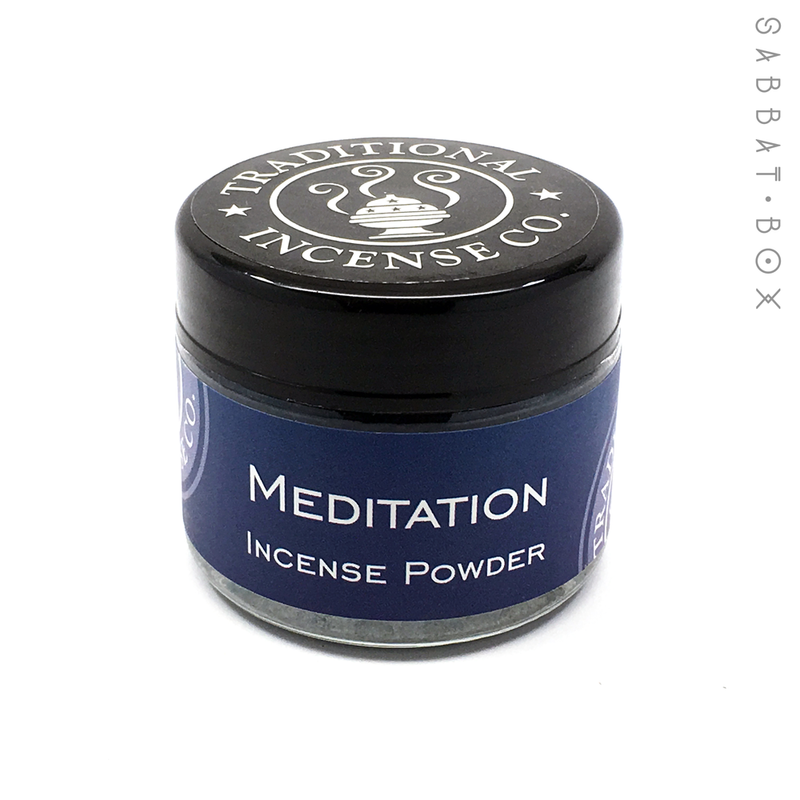 Meditation Incense Powder - 3.5 oz