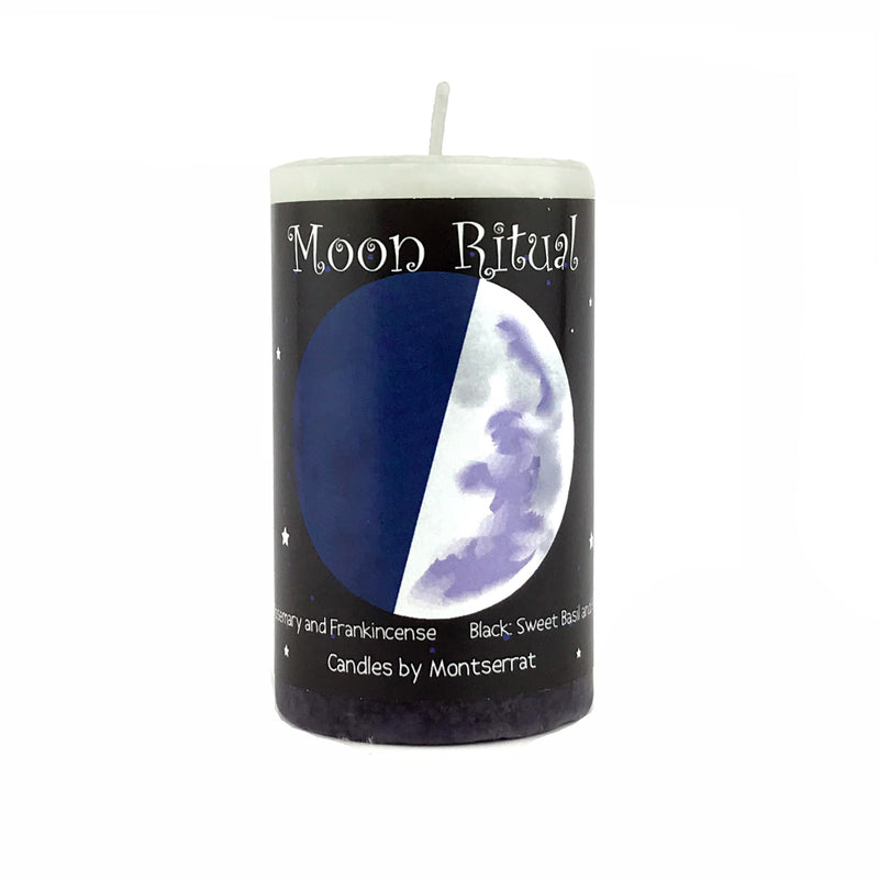 Moon Ritual Spell Candles - Sabbat Box