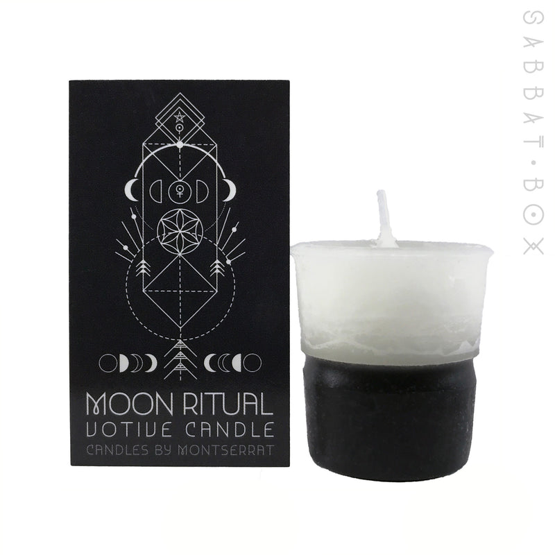 Moon Ritual Votive Spell Candle - Candles By Montserrat