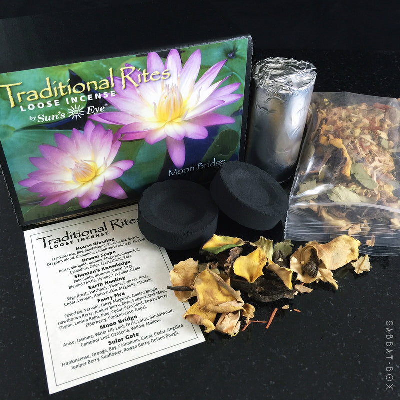 Moon Bridge Traditional Rites Loose Incense Kit