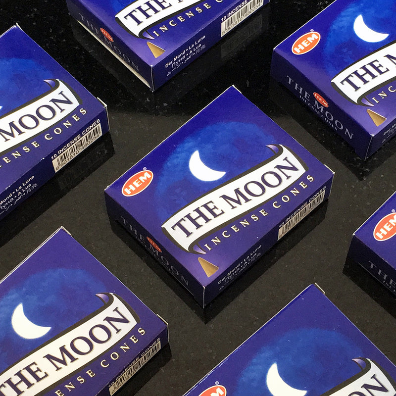The Moon Cone Incense By Hem