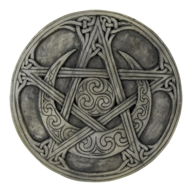 Moon Pentacle Plaque