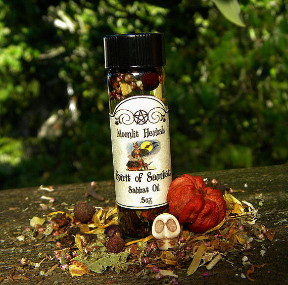 The Spirit Of Samhain Sabbat Oil - Moonlit Herbals
