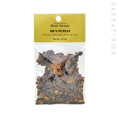 Myrrh Resin Incense .75 oz