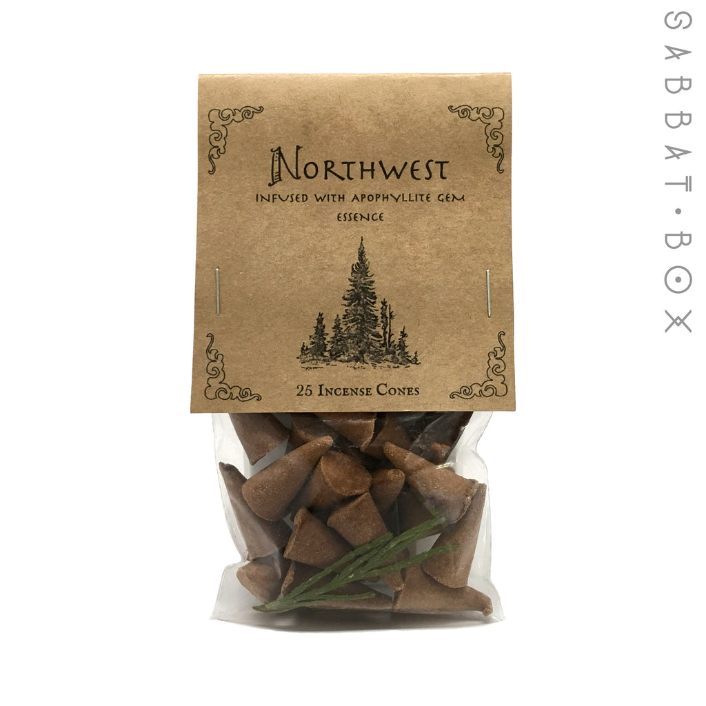 Northwest Handmade Cone Incense - 25 Pack - Higher Mind Incense