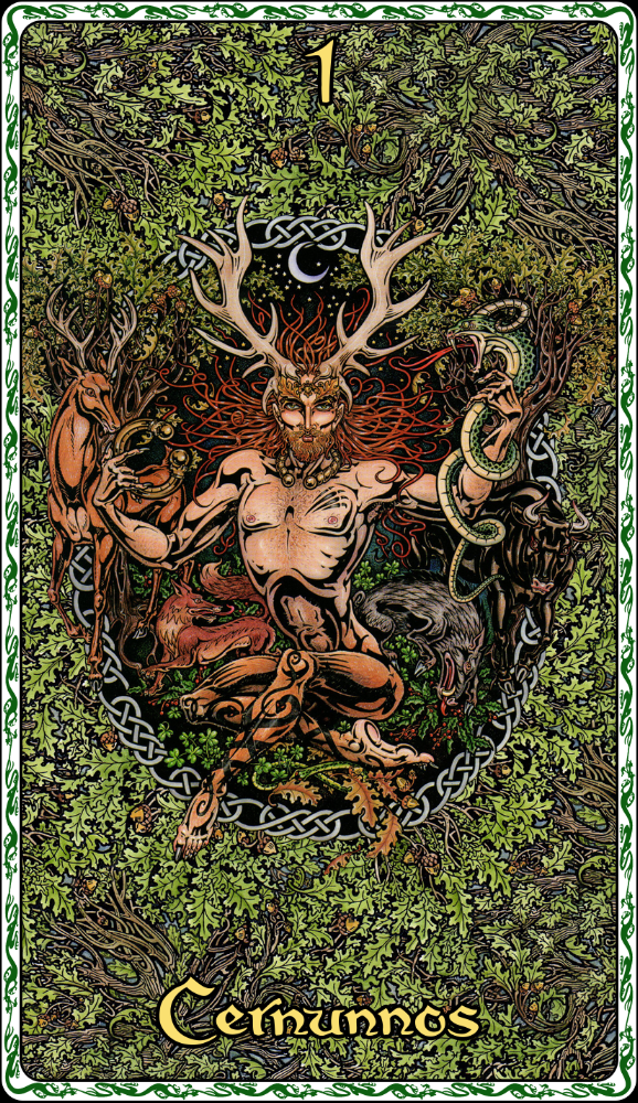 Oracle of the Ancient Celts: The Dalriada - Celtic Wisdom Cards