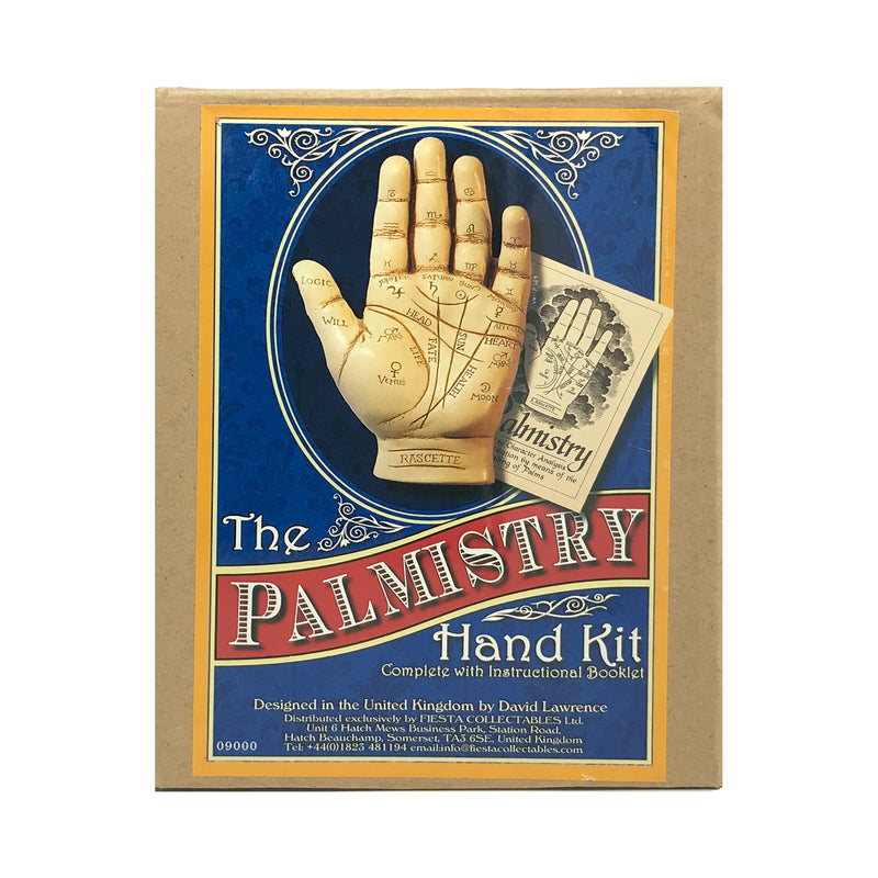 Palmistry Hand Kit With Palmistry Statue and Booklet - Samhain Sabbat Box