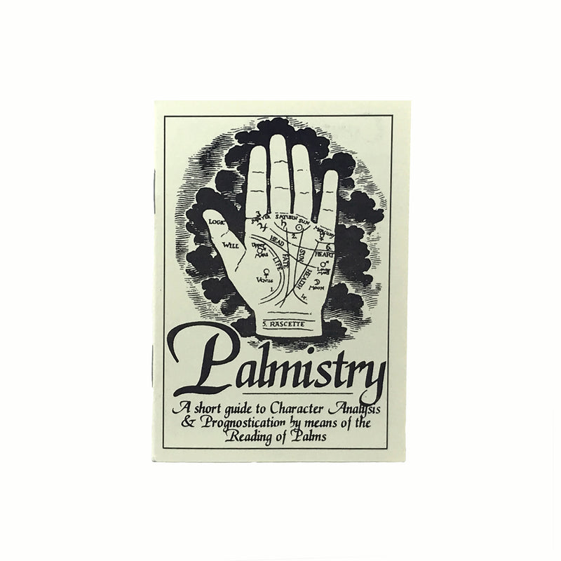 Palmistry Hand Statue Kit Booklet On Palmistry - Sabbat Box