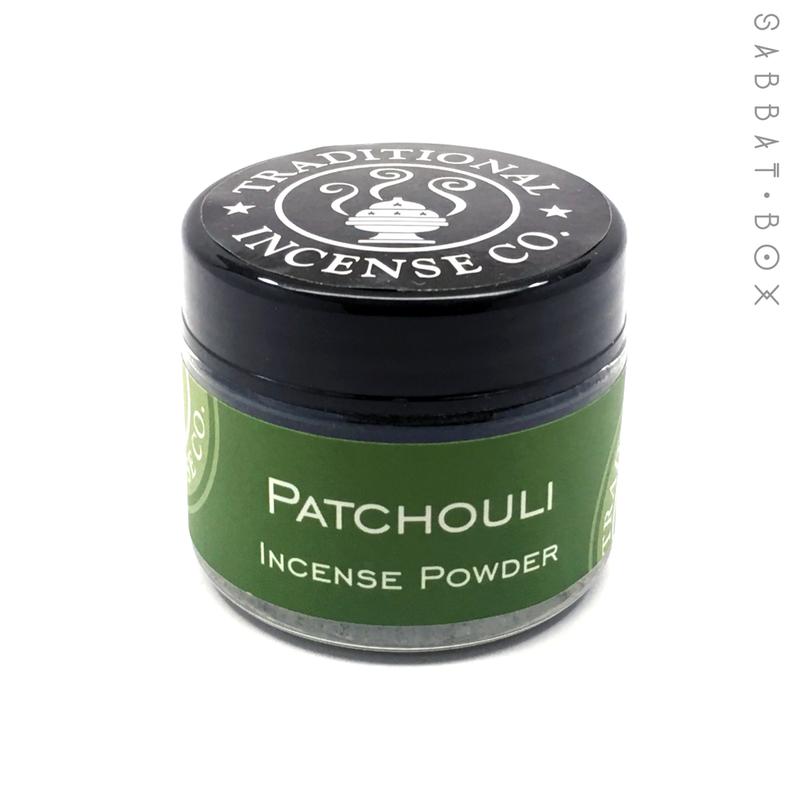 Patchouli Incense Powder - 3.5 oz