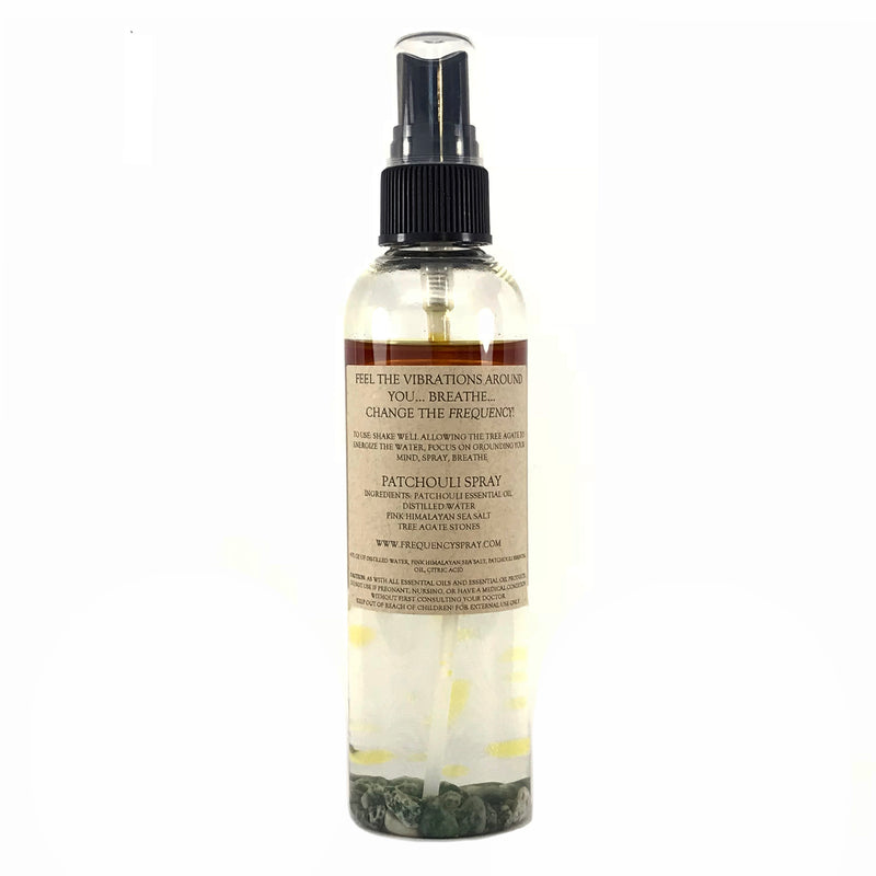 Patchouli Smudge and Aura Spray By Frequency - 4oz. - Sabbat Box