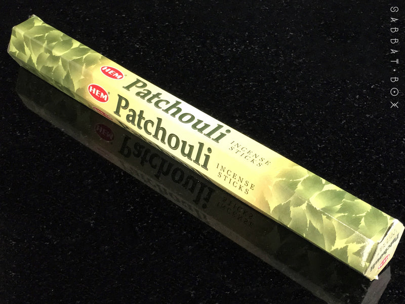 Patchouli Stick Incense - 20 pack