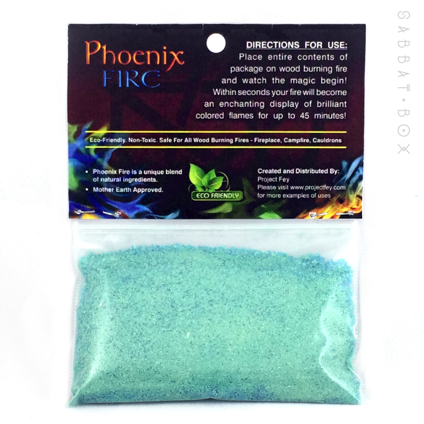 Phoenix Fire Color Changing Fire Powder By Project Fey Sabbat Box