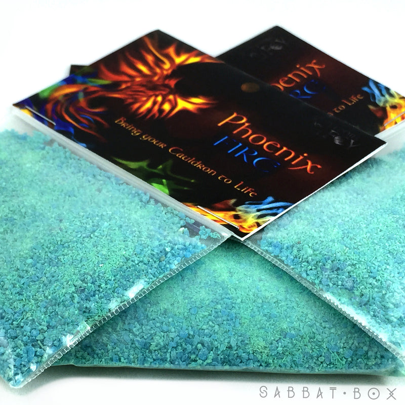 Color Changing Fire Powder Phoenix Fire - Mabon Sabbat Box