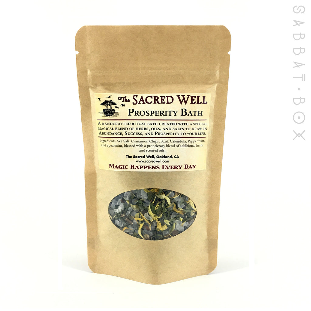 Prosperity Ritual Bath By The Sacred Well - 4oz - Sabbat Box