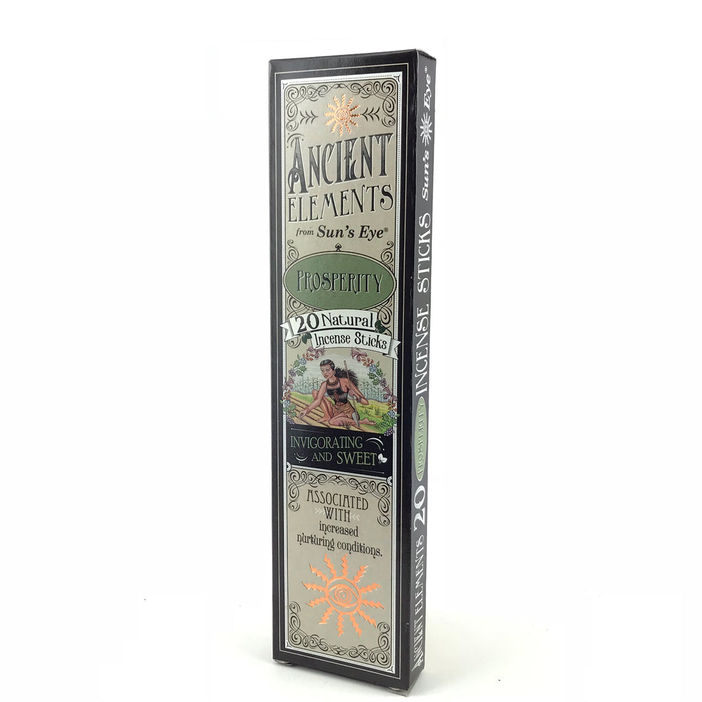 Prosperity Ancient Elements Stick Incense by Sun's Eye - Sabbat Box