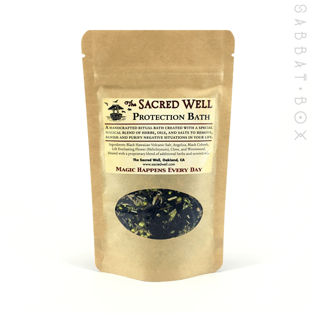 Protection Ritual Bath By The Sacred Well - 4oz