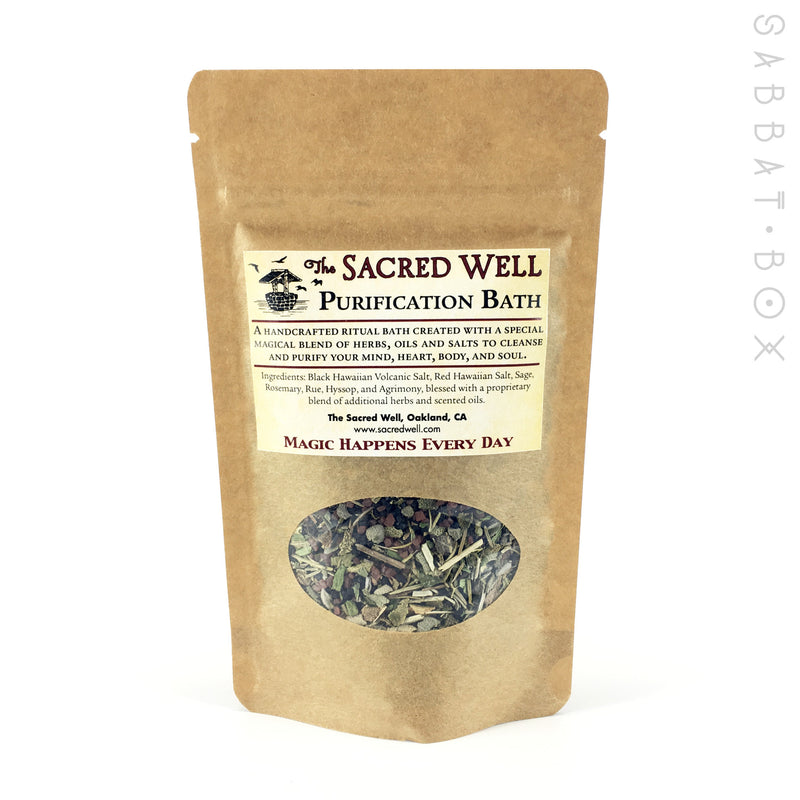 Purification Ritual Bath By The Sacred Well - 4oz - Sabbat Box