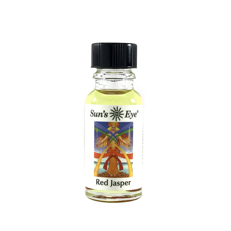 Red Jasper Ritual Oil by Sun's Eye