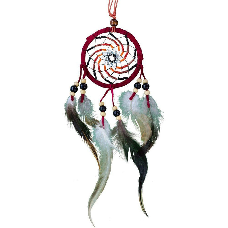 vortex dream catcher red