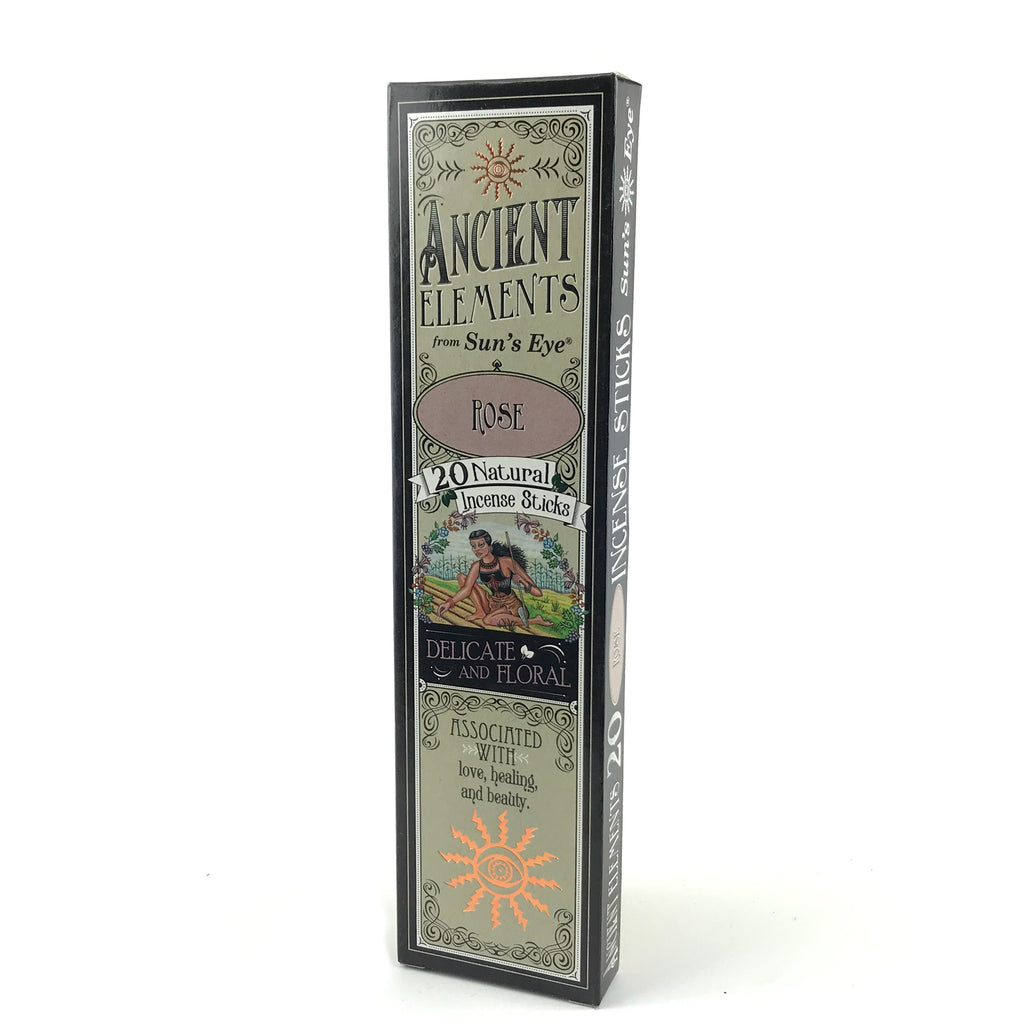 Rose Ancient Elements Stick Incense by Sun's Eye - Sabbat Box
