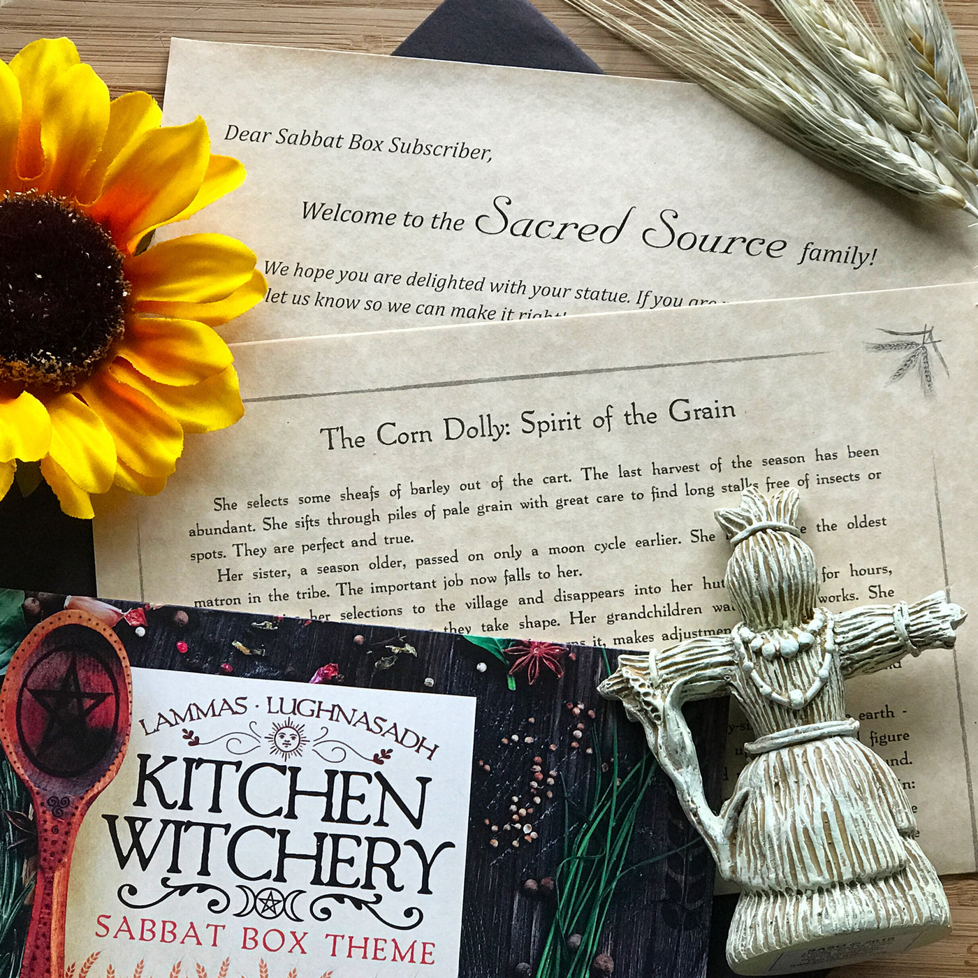 Old Fashioned Kitchen Witch Altar Festooning - Kitchen Cabinets ...