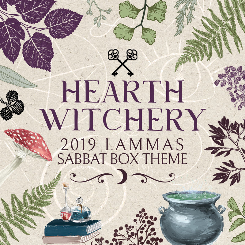 2019 Lammas Sabbat Box - Hearth Witchery - ONE TIME BOX PURCHASES