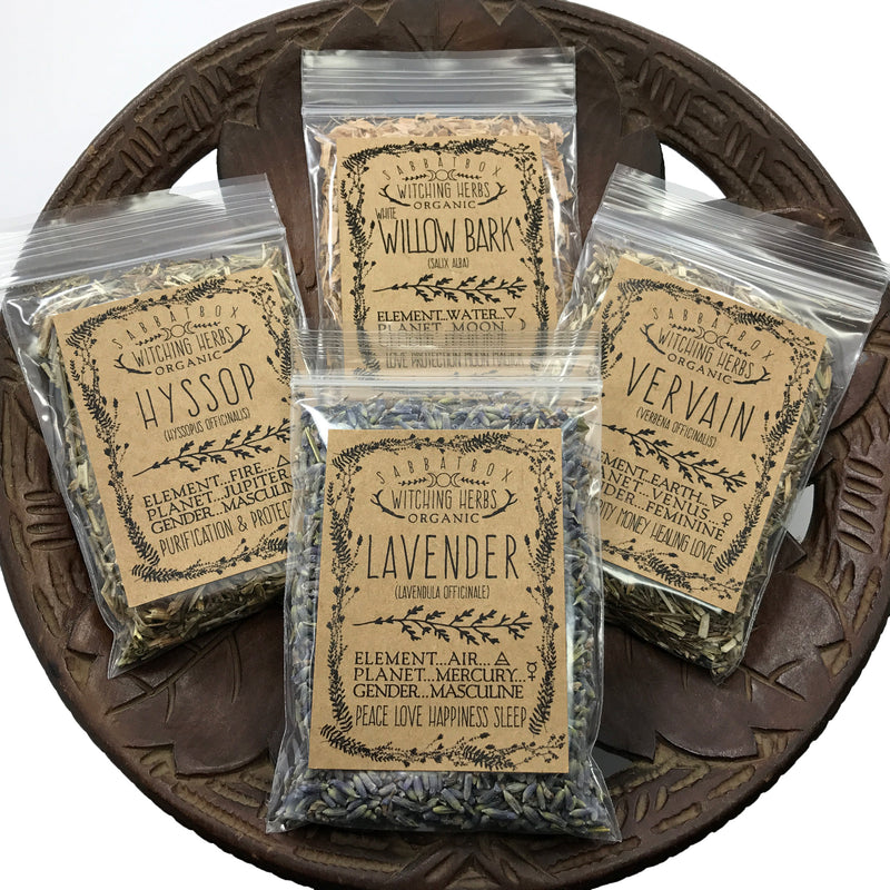 Starter Witches Herb Kit By Sabbat Box