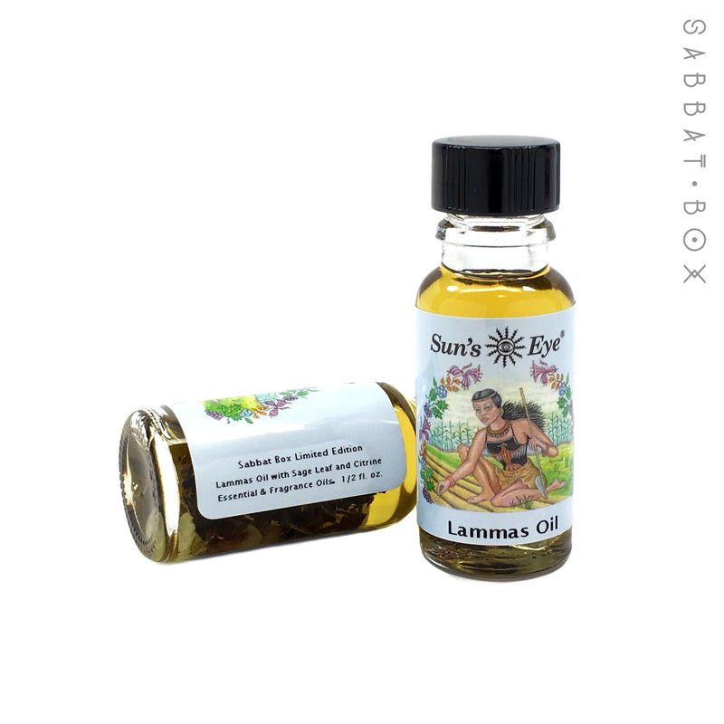 Lammas Ritual Oil By Sun's Eye - Sabbat Box Exclusive Product