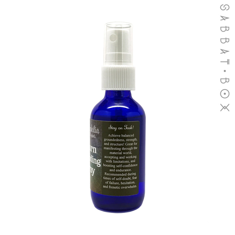 Saturn Grounding Wiccan Ritual Spray for Self Confidence