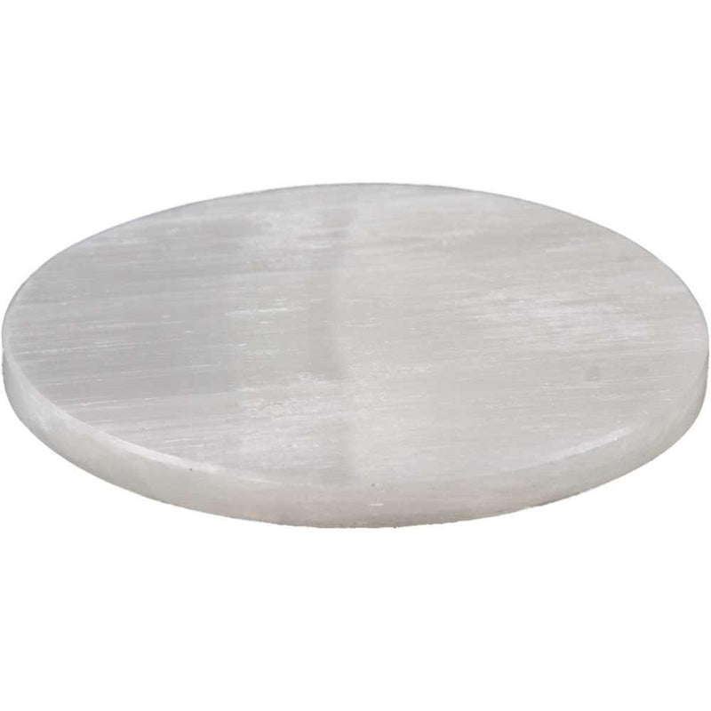Selenite Charging Plate 6 Inch Charging Plate Selenite Offering Plate