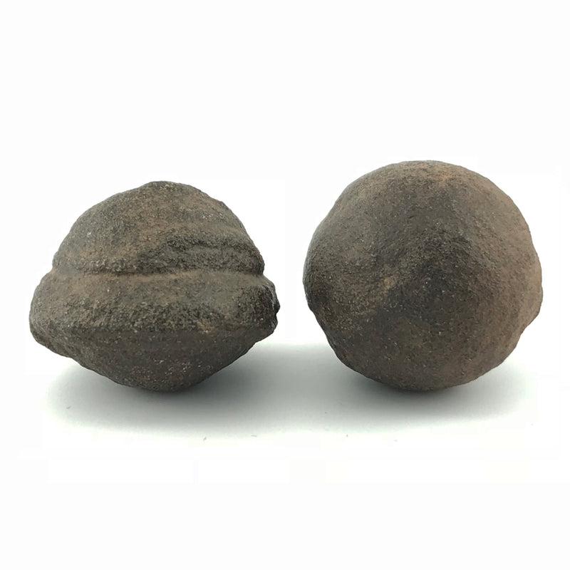Shaman Stones Moqui Balls Moqui Marbles Set - Pair of Male and Female Shaman Stones - Sabbat Box