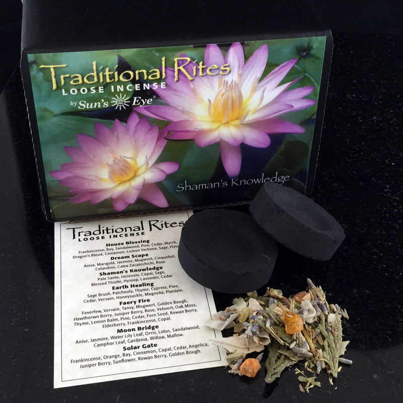 Shaman's Knowledge Loose Incense Kit