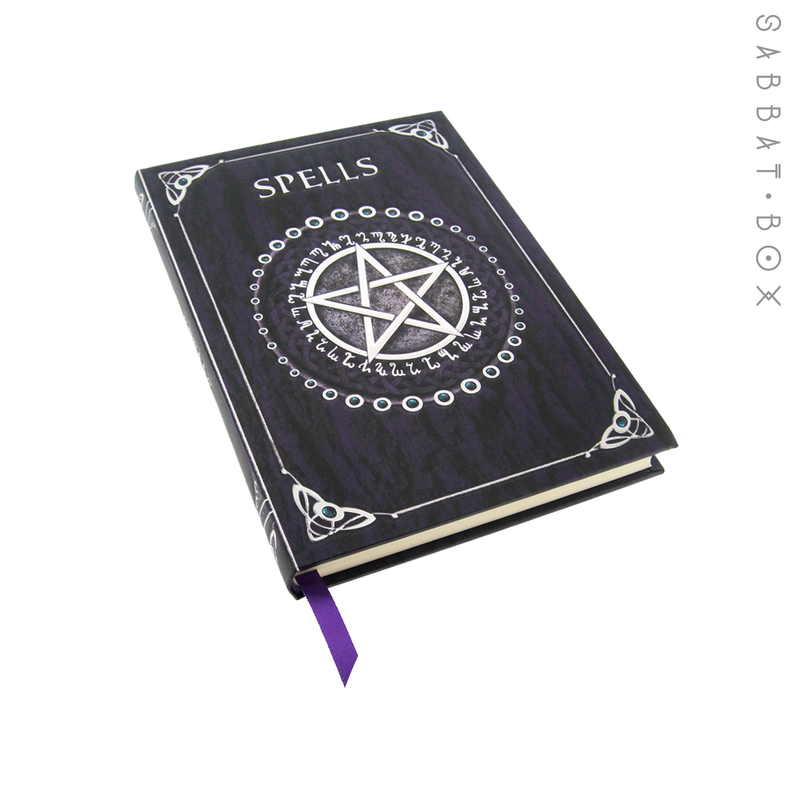 "Blue and Silver Pentacle Spell Book/Journal - 5.0"" x 7.0"""